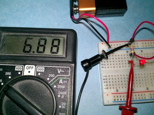 voltage across a resistor